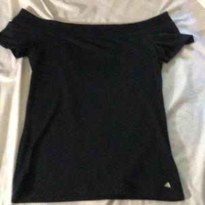 off- the shoulder shirt